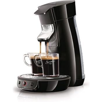 Philips Senseo HD7825/60OP1 Viva Cafe Kaffeepadmaschine inklusive Vorteilspaket, schwarz