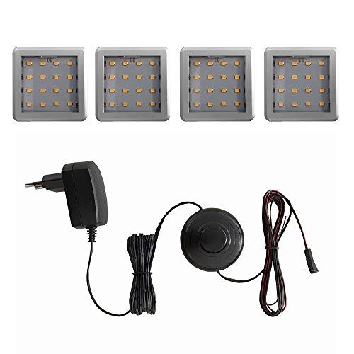 trendteam 1100-764-00 Ampoule à LED Plastique, 4 W, Blanc