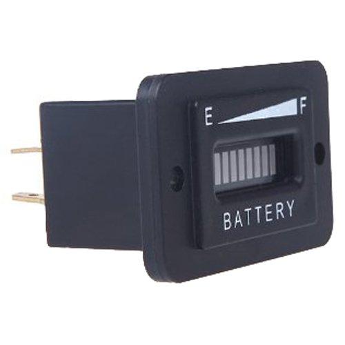 SODIAL(R) LED Digital 12V & 24V Stato della batteria Indicatore di carica Monitor tester del calibro
