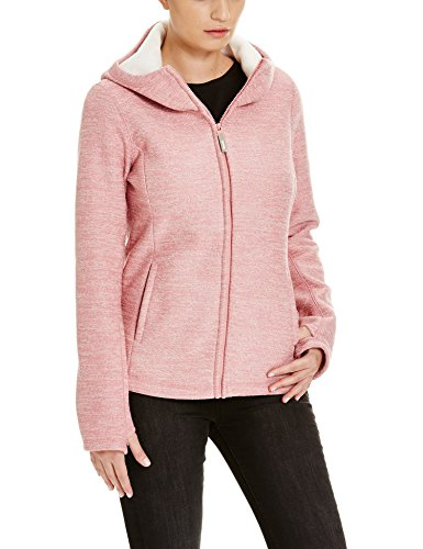 Bench Damen Strickjacke FURTHERMOST, Rosa (Brandied Apricot PK162-CR018), Large Preisvergleich