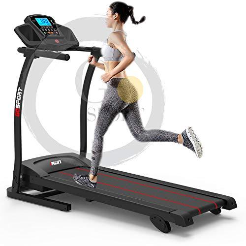 GO SPORT Tapis ROULANT Elettrico Pieghevole con SENSORE Cardiaco Cardio 500 W (3,5 HP Picco)