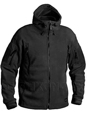 Helikon Patriot Fleece Jacke Schwarz