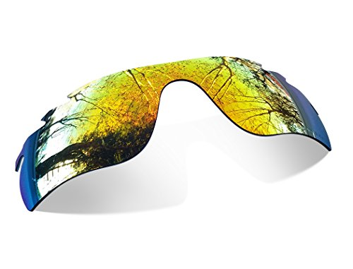 Galleria fotografica Sunglasses Restorer Lenti Polarizzate Fire Iridium di Ricambio per Oakley Radarlock Ventilate
