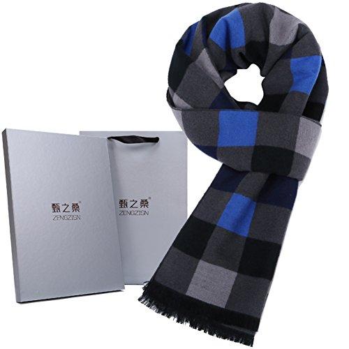 affaires-foulard/Automne et hiver chaud brossé foulard en soie A