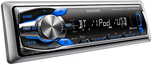 Kenwood KMR-M308BTE digital Media Receiver mit Bluetooth-Freisprecheinrichtung, Apple iPod-Steuerung für maritimen Einsatz - Kabelbaum Kenwood Radio