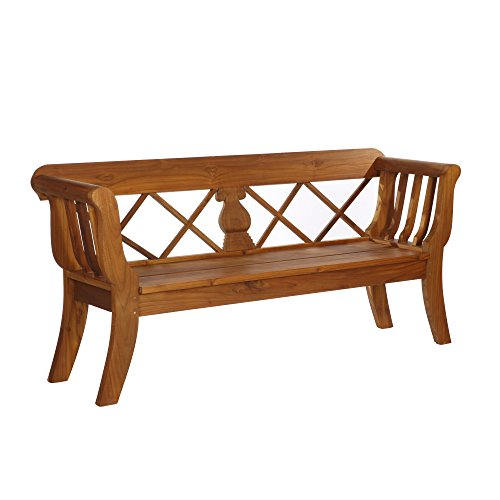 Teak Gartenbank XXL,Teakholz ' Biedermeier 200 ' massive schwere Qualität 200cm x 58cm x 93cm A-Ware Holzqualität