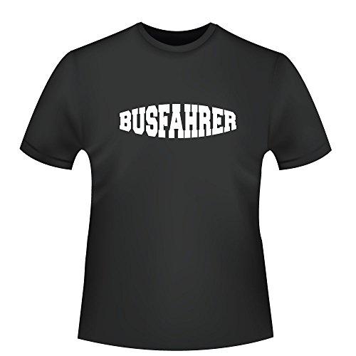 Busfahren , Herren T-Shirt - Fairtrade - ID103718 Schwarz