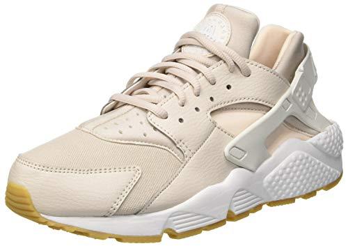 Nike Wmns Air Huarache Run, Scarpe da Ginnastica Basse Donna, Multicolore (Desert Sand/Summit White/Guava Ice 001), 41 EU
