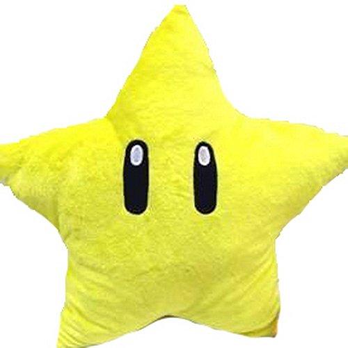 """Mario Star Pillow - 28cm 11"""""""