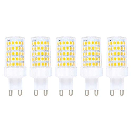 Bombilla LED G9 regulable 10w luz cálida – Pack de 5