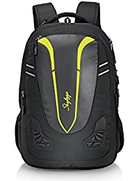 Skybags 32 Ltrs Black Laptop Backpack (CREW5BLK)