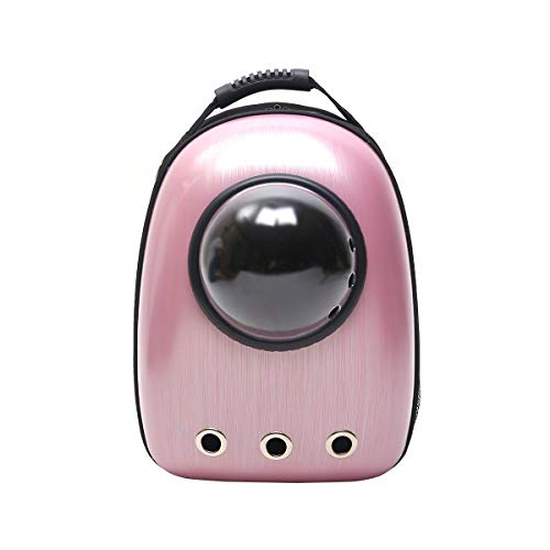 Gg Pet Out Bag PU Leder Porös Atmungsaktiv Panorama Rechnungen Antiklinig Kreuzgurt Matte Für Welpen Katze (Farbe : E) -