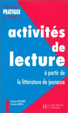 Activits de lecture  partir de la littrature de jeunesse