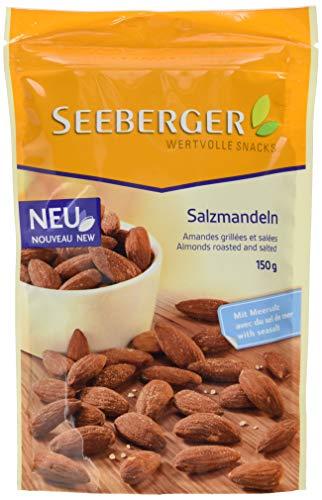 Seeberger Salzmandeln, 12er Pack (12 x 150 g)
