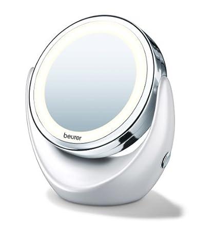 Miroir Grossissant 8 Fois - Miroir pour maquillage grossissant double face éclairé