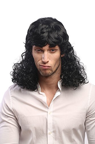 WIG ME UP ® - 60893-P103 Peluca Hombres Mujeres Carnaval