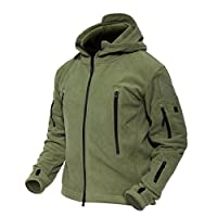 MAGCOMSEN Men 's Windproof Warm Military Tactical Fleece Jacket 8