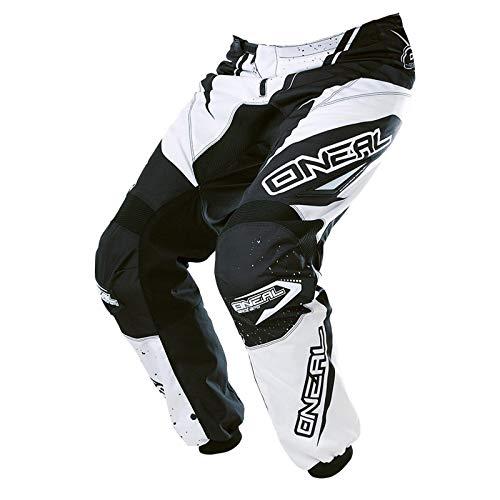 O\'neal Element MX DH MTB Pant Hose lang Racewear weiß/schwarz 2017 Oneal: Größe: 34 (50)