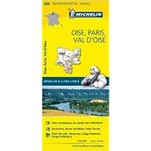 Carte Oise, Paris, Val-dOise Michelin de Collectif Michelin ( 1 avril 2015 )