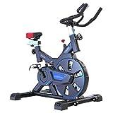 Vélo d'exercice d'intérieur professionnel - Système d'amortissement des ressorts hydrauliques Confortable siège Vélo de fitness Ergonomique Équipement de sport Affichage multifonction intelligent