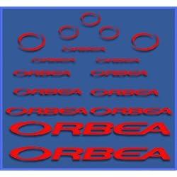 Ecoshirt Q0-B4Q3-BARC Pegatinas Orbea Dr04 Vinilo Adesivi Decal Aufkleber Клей MTB Stickers Bike, Rojo