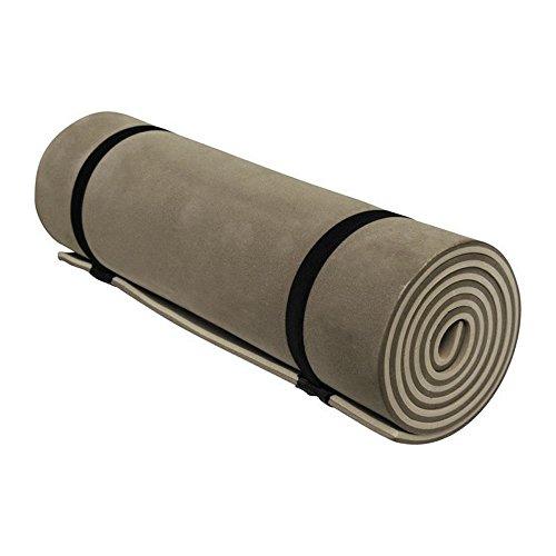 Isomatte, Fitnessmatte, zweischichtig, 180x50 cm braun Meteor