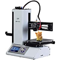 Monoprice Select Mini 3D Printer v2 - With Heated (120 x 120 x 120 mm) Build Plate, Fully Assembled + Free Sample PLA Filament And MicroSD Card Preloaded With Printable 3D Models