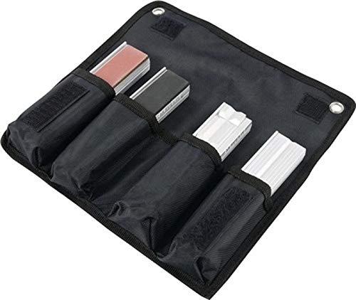 HEUER Magnet-Schutzbacken 4er-Set, enthält Typ N, G, F und P, für Schraubstock Größe 120 mm