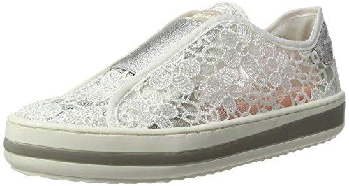 Desigual Damen Funk LACE 1 Sneaker, Weiß (Blanco), 38 EU