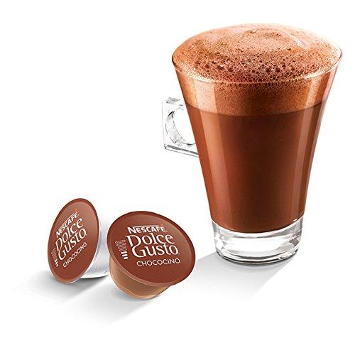 Nescafé Dolce Gusto Kapseln, Chococino, 3er Pack (48 Kapseln) - 3