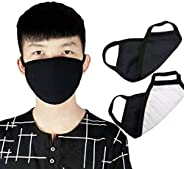 Ineira 20PCS Face Coverss, PM2.5 Per Pack Mouth Covers Unisex Face Covers Cotton Covers