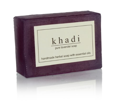 Khadi Pure Lavender Soap, 125g  available at amazon for Rs.824