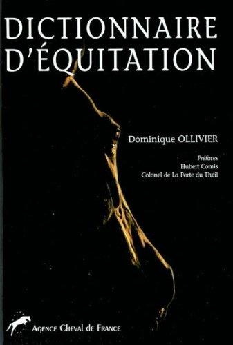Dictionnaire d'équitation