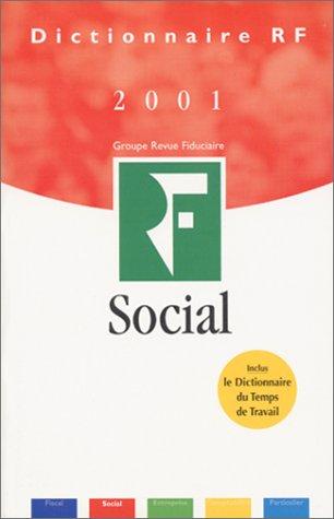 Dictionnaire social 2001 par Claude Desset