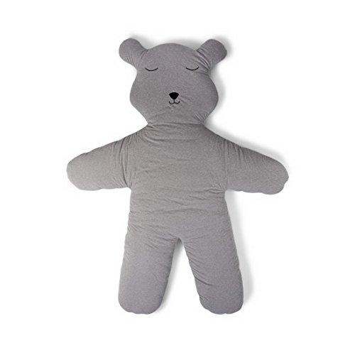 Childhome- Designer Bodenkissen Teddybär 100% Baumwolle Riesenteddy Spiel Unterlage Kinderteppich,...