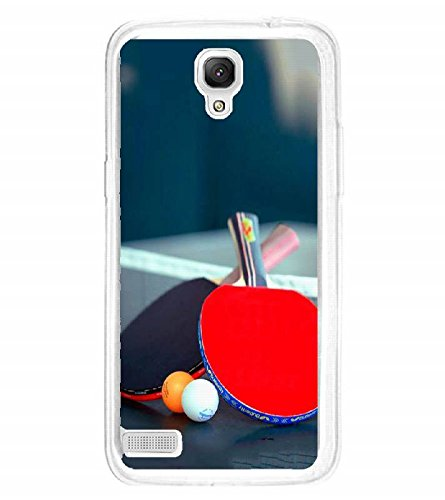 Fuson Designer Back Case Cover for Xiaomi Redmi Note :: Xiaomi Redmi Note 4G :: Xiaomi Redmi Note Prime (Table Tennis Game Sport Table Rackets)  available at amazon for Rs.199