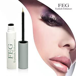 FEG Serum, Wimpernserum Augenbrauen & Wimpernverlängerung. Eyelash Enhancer 3ml