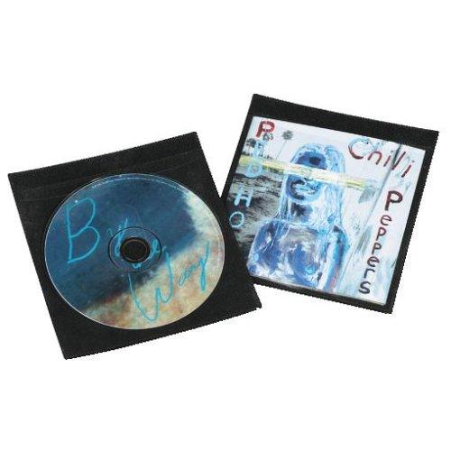 Hama CD-Schutzhüllen 50, Schwarz