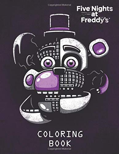 Five Nights at Freddy's Coloring Book: Activity Book for Kids - 40 High Quality Illustrations