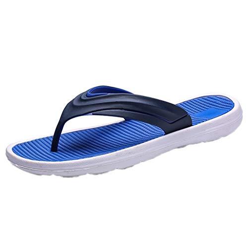 reizeitschuhe Flache Schuhe Flache Schuhe Freizeitschuhe Sommer Herren Mode Freizeitschuhe Feste Strand Sandale Atmungsaktive Flip Flops Schuhe ()