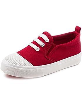 YUHUAWYH Unisex Sneakers Scarpe Bambine e Ragazze Ragazzi Tela