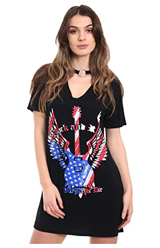 AHR_Manchester_LTD -  T-shirt - Donna Black M/L (44-46)