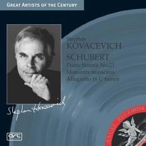 Schubert: Piano Sonata No 21 D960, Allegretto in C minor D915 and Moments Musicaux D780.