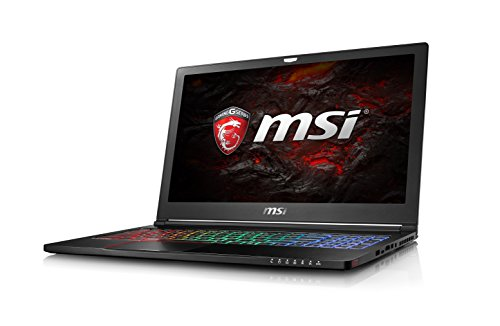 "MSI Gaming GS63VR 6RF(Stealth Pro)-011UK 2.6GHz I7-6700HQ 15.6"" 1920 x 1080pixels Black - notebooks (I7-6700HQ, Touchpad, Windows 10 Home, Lithium Polymer (LiPo), 64-bit, Intel Core i7-6xxx)"