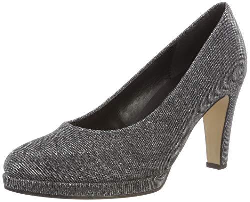 Gabor Shoes Damen Fashion Pumps, Grau (Argento 69), 38 EU