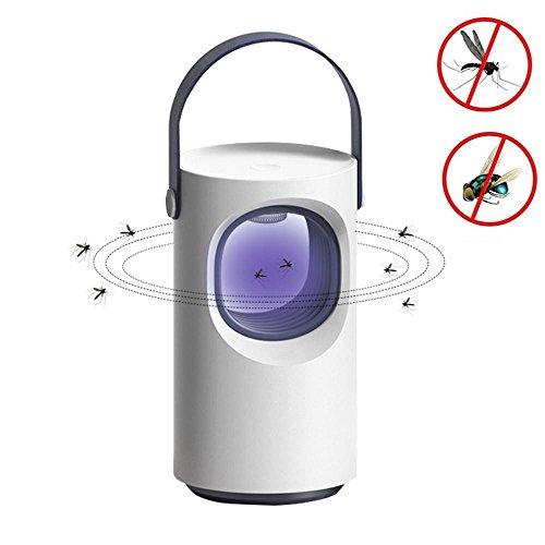 Leegoal Moskito-Lampe Moskito-Insekten-Mörder, UV-LED-Insekten-Lampe Mückenschutz-Lampe mit Hängendem Bügel für Hauptpatio-Hof Im Freien -