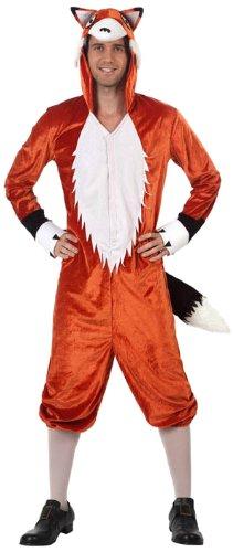 Fuchs Kostüm Erwachsene - (Kostüm Erwachsene Fuchs)