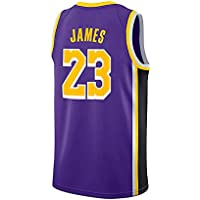 WELETION Los Angeles Lakers Jersey 23  Lebron James Male Baloncesto Ropa  (L bd5ed8c5717b2