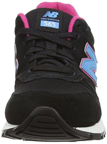 New Balance Wl565 B, Baskets Basses Femme Noir (skt Black)