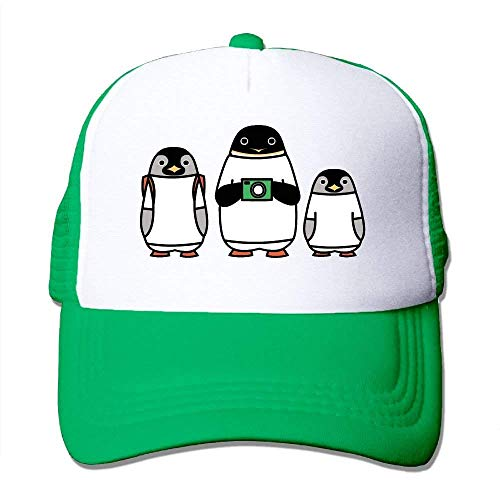 Classic Kostüm Penguin - cvbnch Baseball Caps für Herren/Damen,Unisex Cartoon Penguin Comfortable Mesh Baseball Cap Classic Snapback Fishing Hats Dad Trucker Strapback Cowboy Sun Unisex